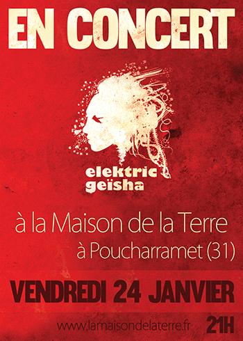Elektric Geïsha - 2014-01-24