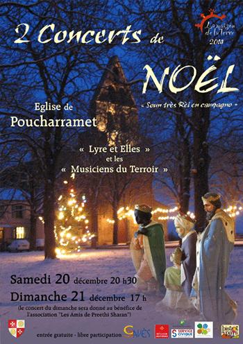 Affiche Concert de Noël 2014-12-20