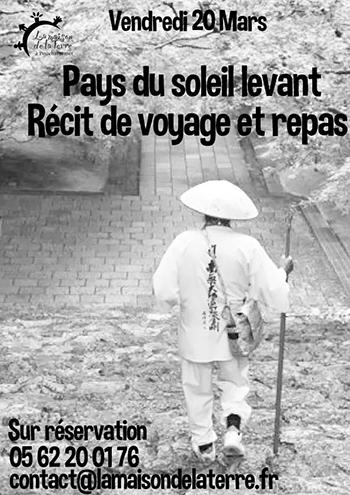 Affiche Recit Pays du soleil levant - 2015-03-20