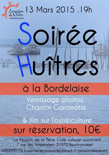 Affiche Soiree Huites - 2015-03-13
