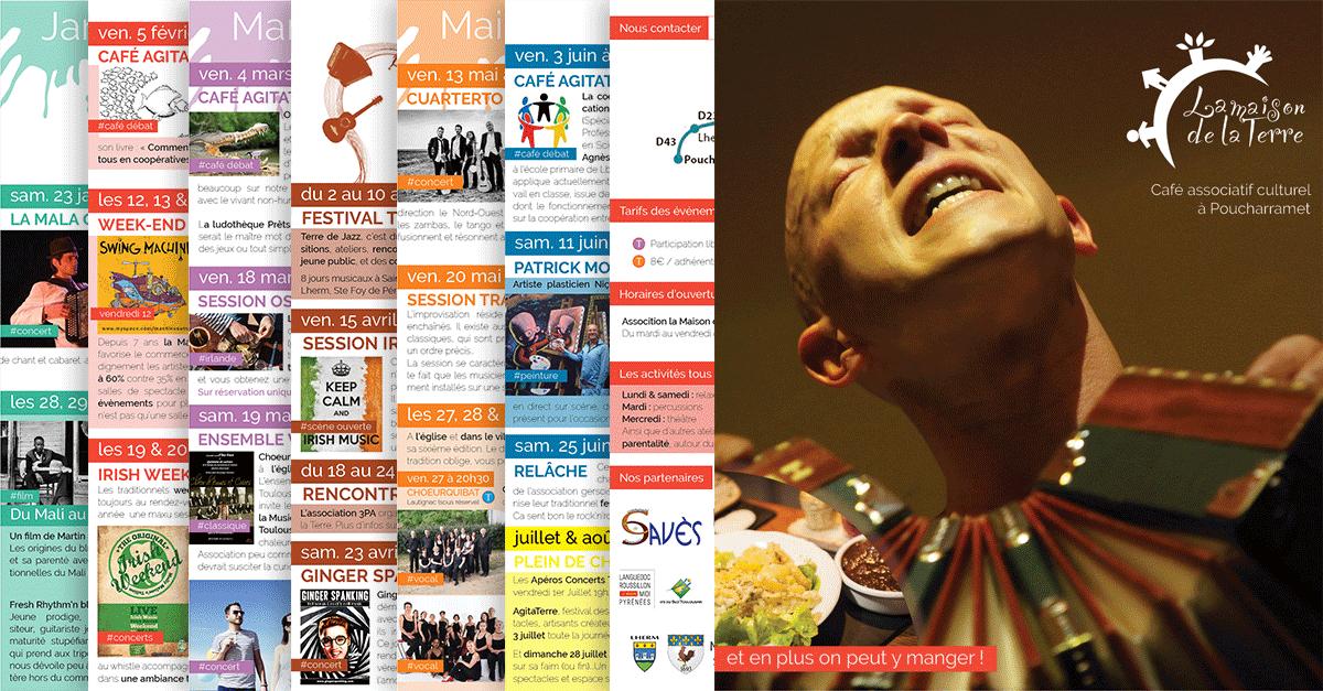 Programme culturel janvier à juin 2016