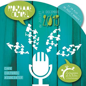 Programme culturel juillet à décembre 2015