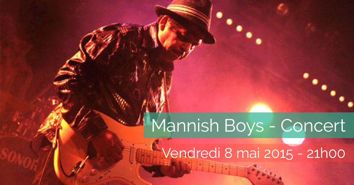 Mannish Boys – Concert – Vendredi 8 mai 2015