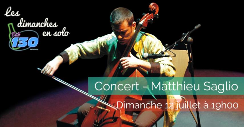 Les dimanches en solo - Matthieu Saglio - 2015-07-12