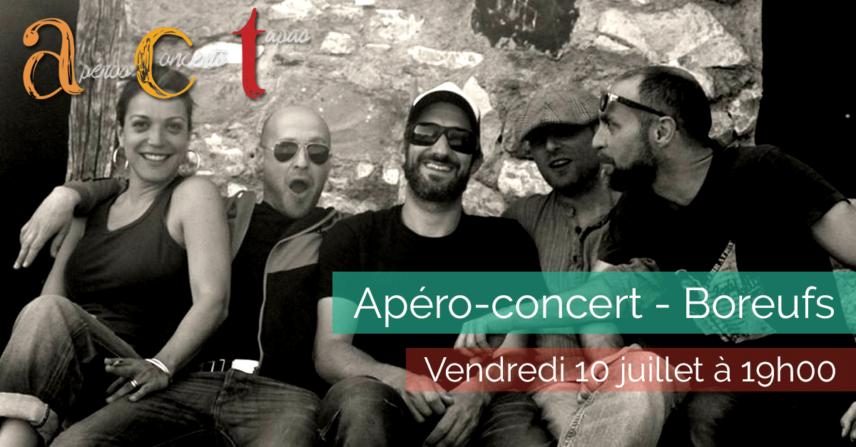 Apéro-concert - Boreufs - 2015-07-10