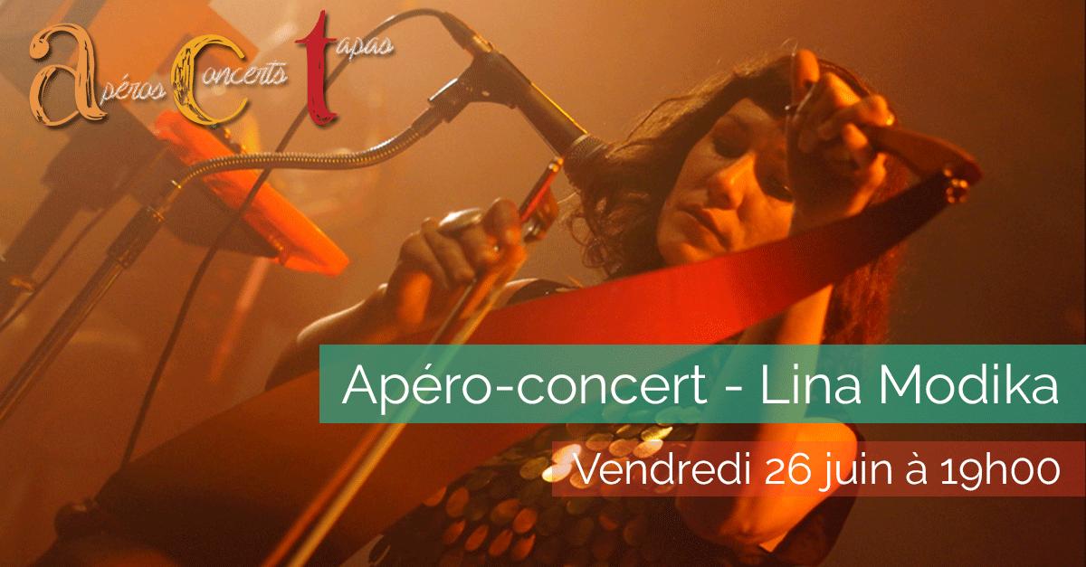 Apéro-concert - Lina Modika - 2015-06-26