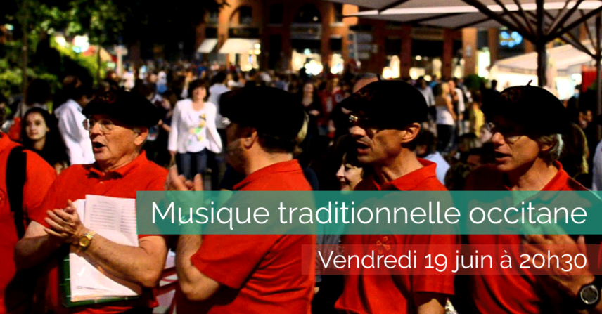 Musique traditionnelle occitane - 2015-06-19 - La Maison de la Terre