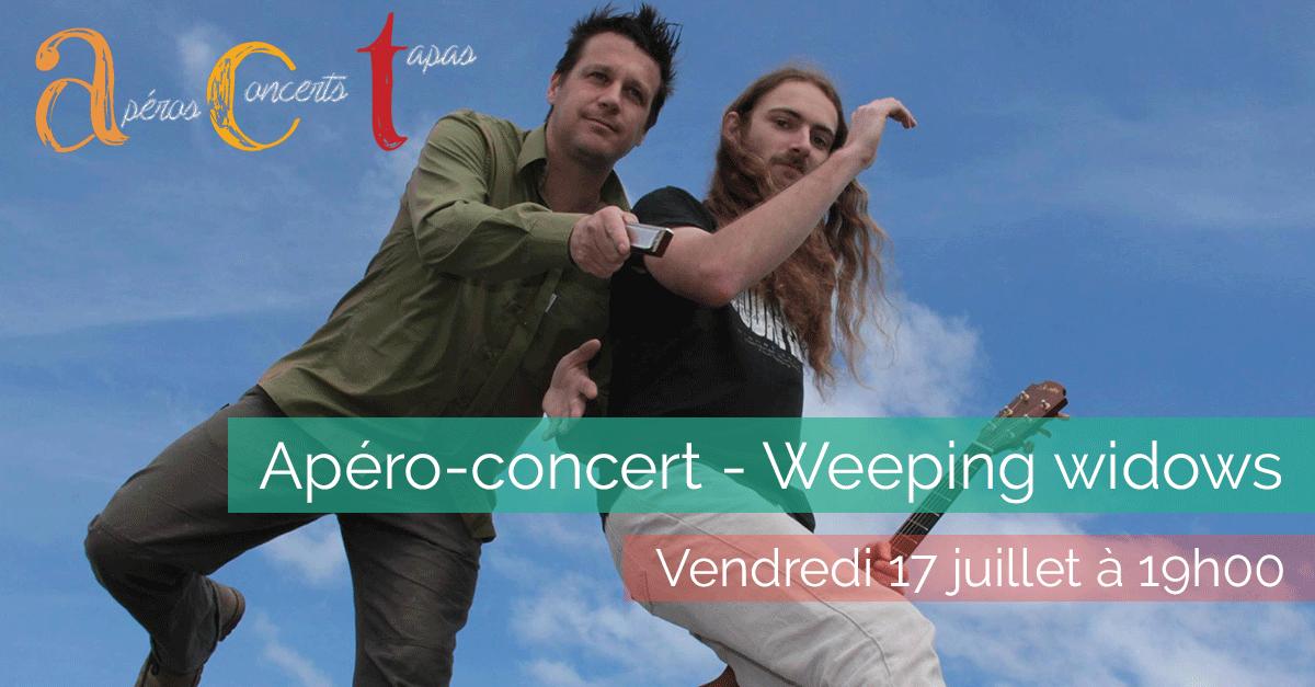 Apéro-concert – Weeping windows – Vendredi 17 juillet 2015