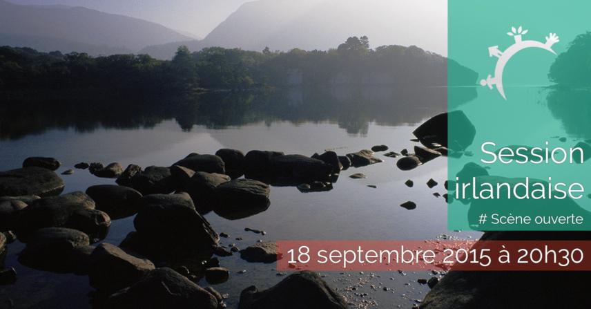 Session irlandaise - scène ouverte - 2015-09-18