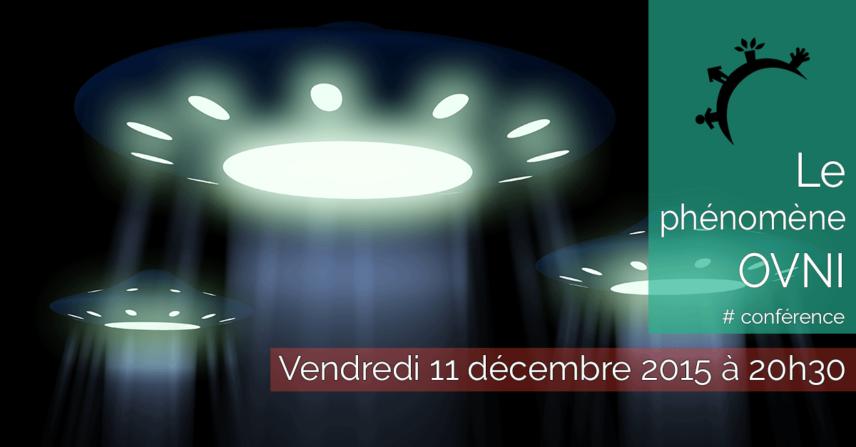 Conférence - Le phénomène OVNI - 2015-12-11