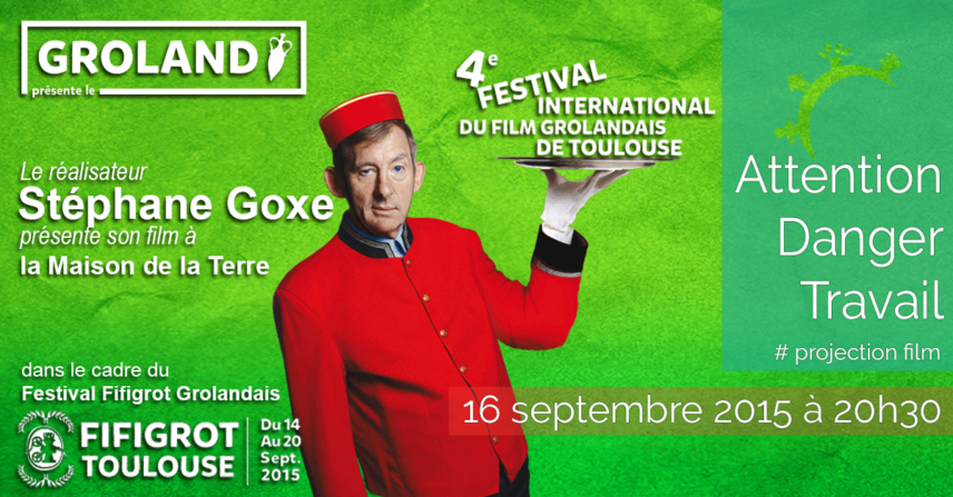 Festival Fifigrot Grolandais avec Pierre Carles - 2015-09-16