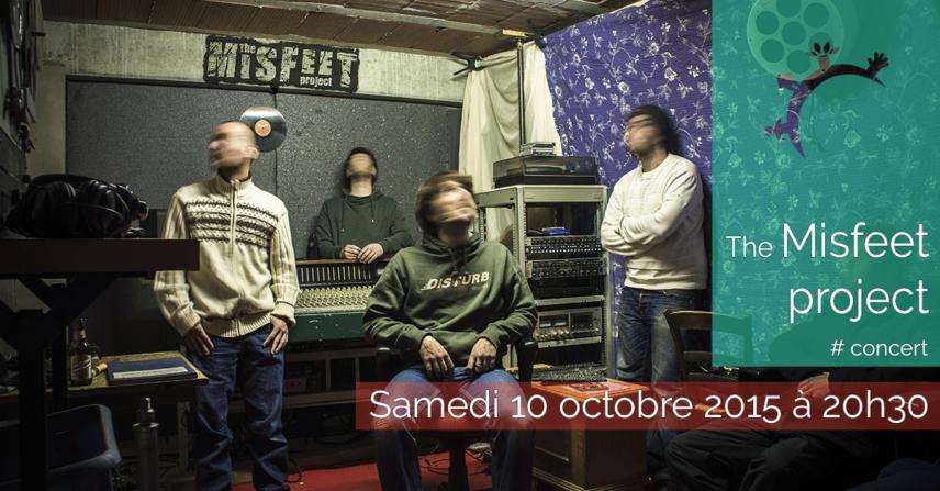 Concert - The Misfeet project - samedi 10 octobre 2015