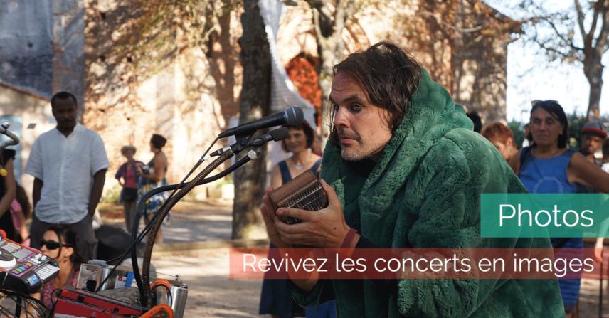 Photos des concerts à la Maison de la Terre