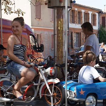 Le Bazar Roulant à Kermestivale 2015
