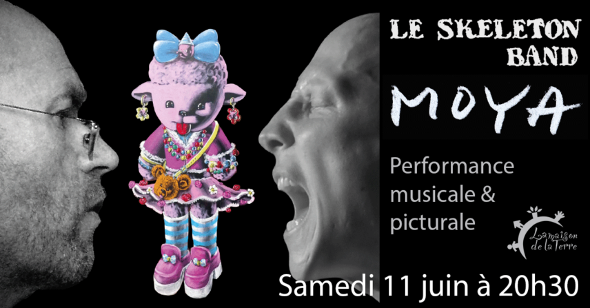 Performance - Moya & le Skeleton Band - Samedi 11 juin 2016