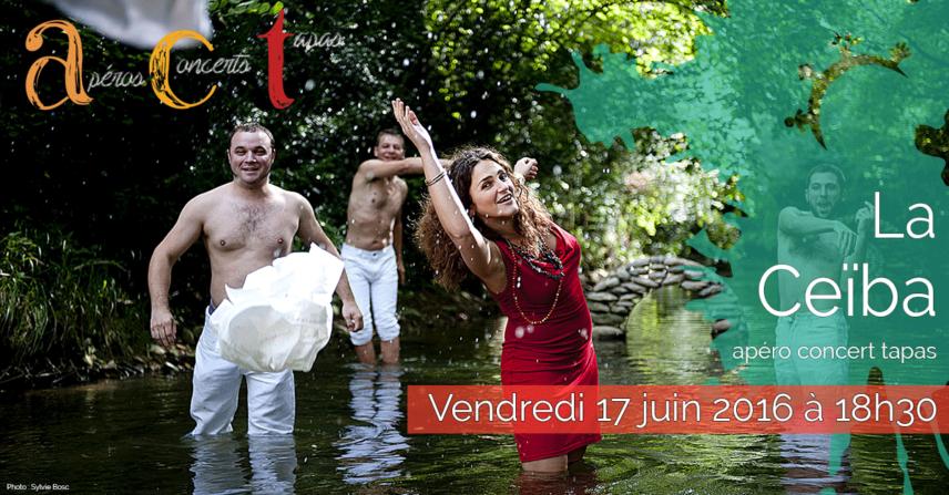 Concert ACT La Ceïba - Vendredi 17 juin 2016