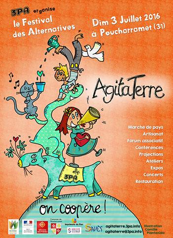 Festival AgitaTerre - 3PA - Dimanche 3 juillet 2016