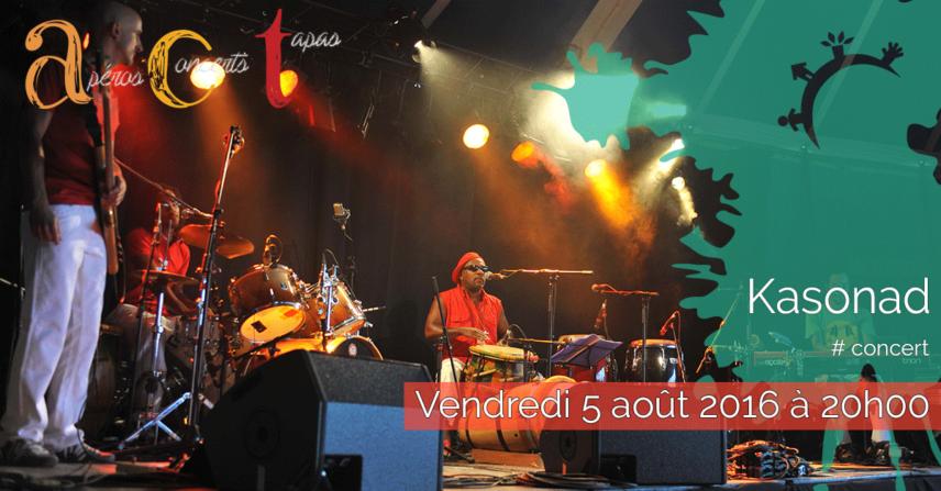 Concert ACT Kasonad – Vendredi 5 août 2016