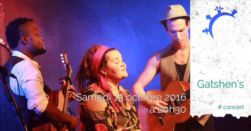 Concert - Gatshen's - Samedi 15 octobre 2016