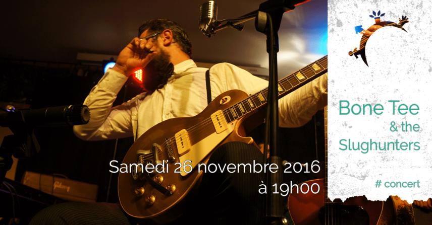 Concert & Dégustation - Fromage, Vin & Delta Blues - Samedi 26 Novembre 2016