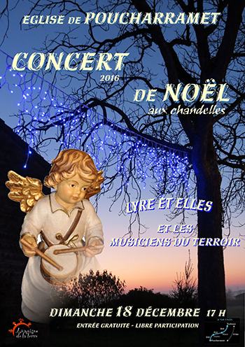 Illustration - Concert de Noëls aux chandelles - Dimanche 18 décembre 2016