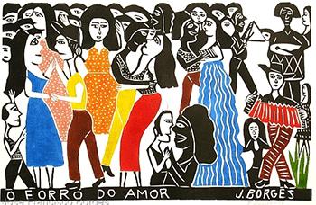 Illustration - Détour au Brésil - Ateliers de musiques & danses Forró - Samedi 8 avril 2017