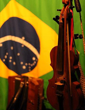 Illustration - Détour au Brésil - Concert - Gadjos di Forró - Rabeca - Samedi 8 avril 2017