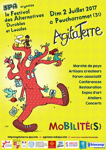 Festival Agita'Terre - 3PA - Dimanche 2 juillet 2017