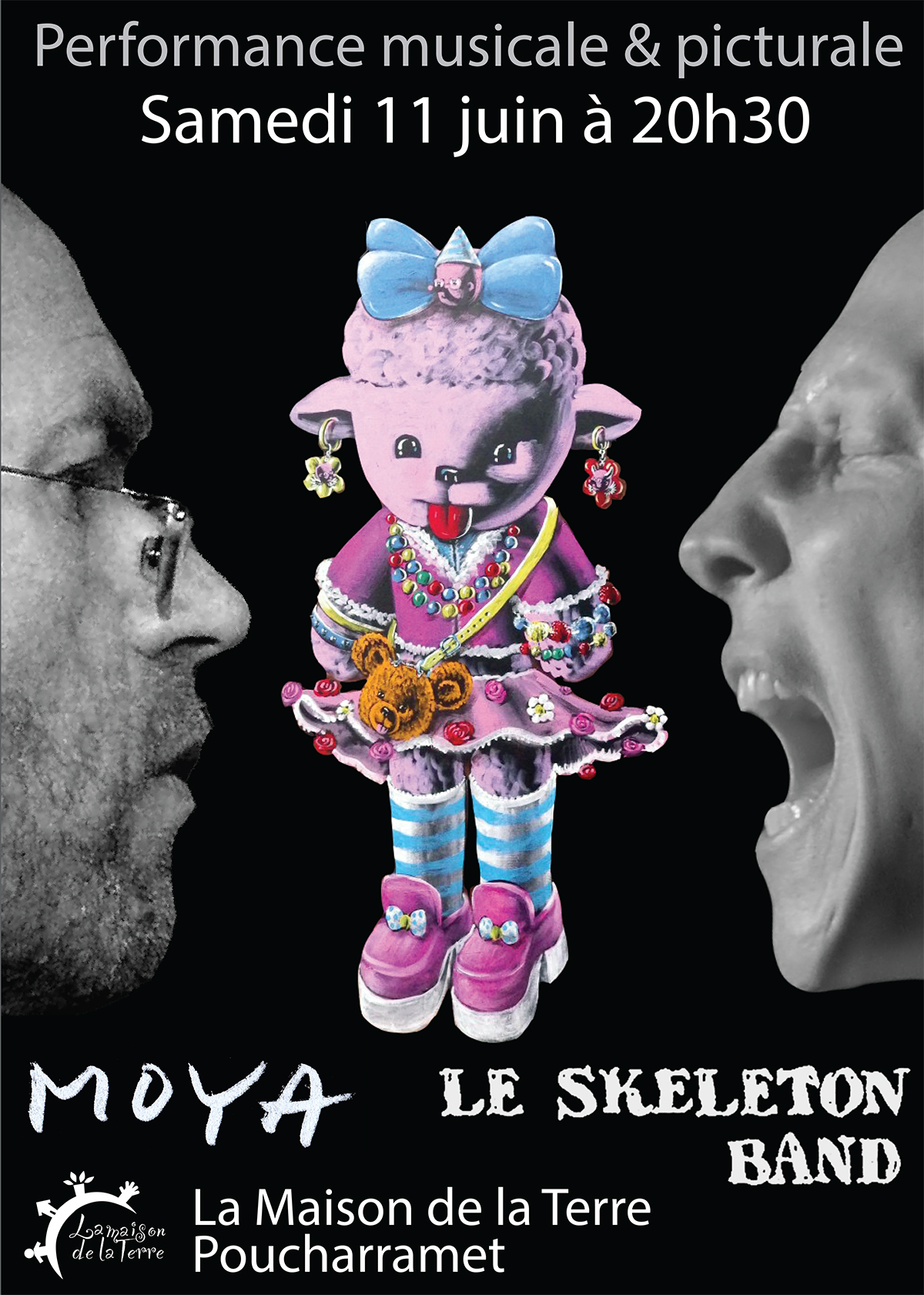Affiche Moya Le Skeleton Band