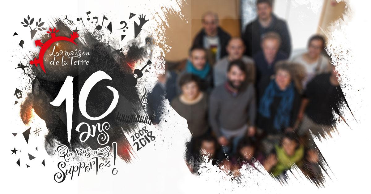 10 ans que vous nous supportez ! Anniversaire, jeudi 1er mars 2018