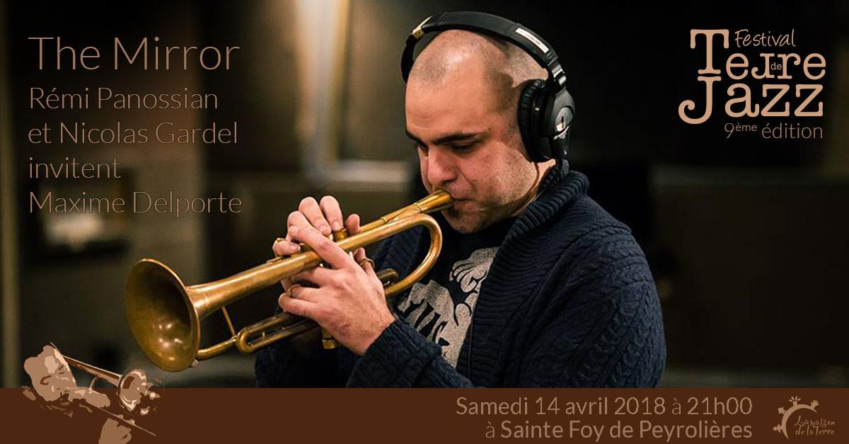 Terre de jazz, concert, Rémi Panossian et Nicolas Gardel invitent Maxime Delporte, samedi 14 avril 2018