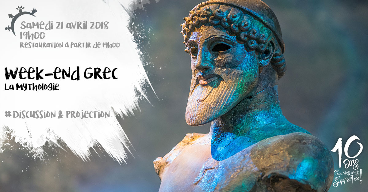 Week-end grec, projection, discussion, samedi 21 avril 2018