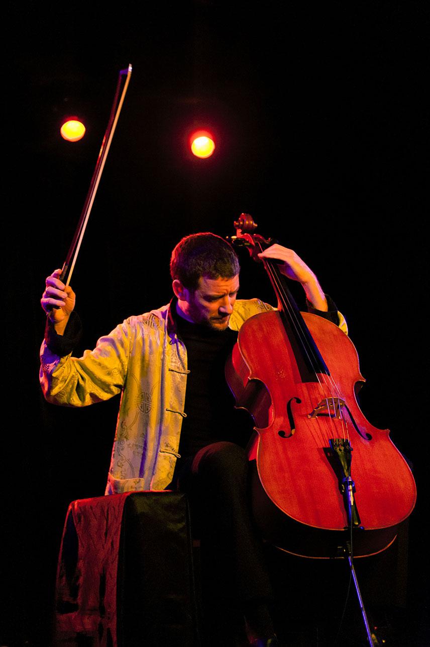 Illustration - Concert, Matthieu Saglio Cello solo, vendredi 7 décembre 2018