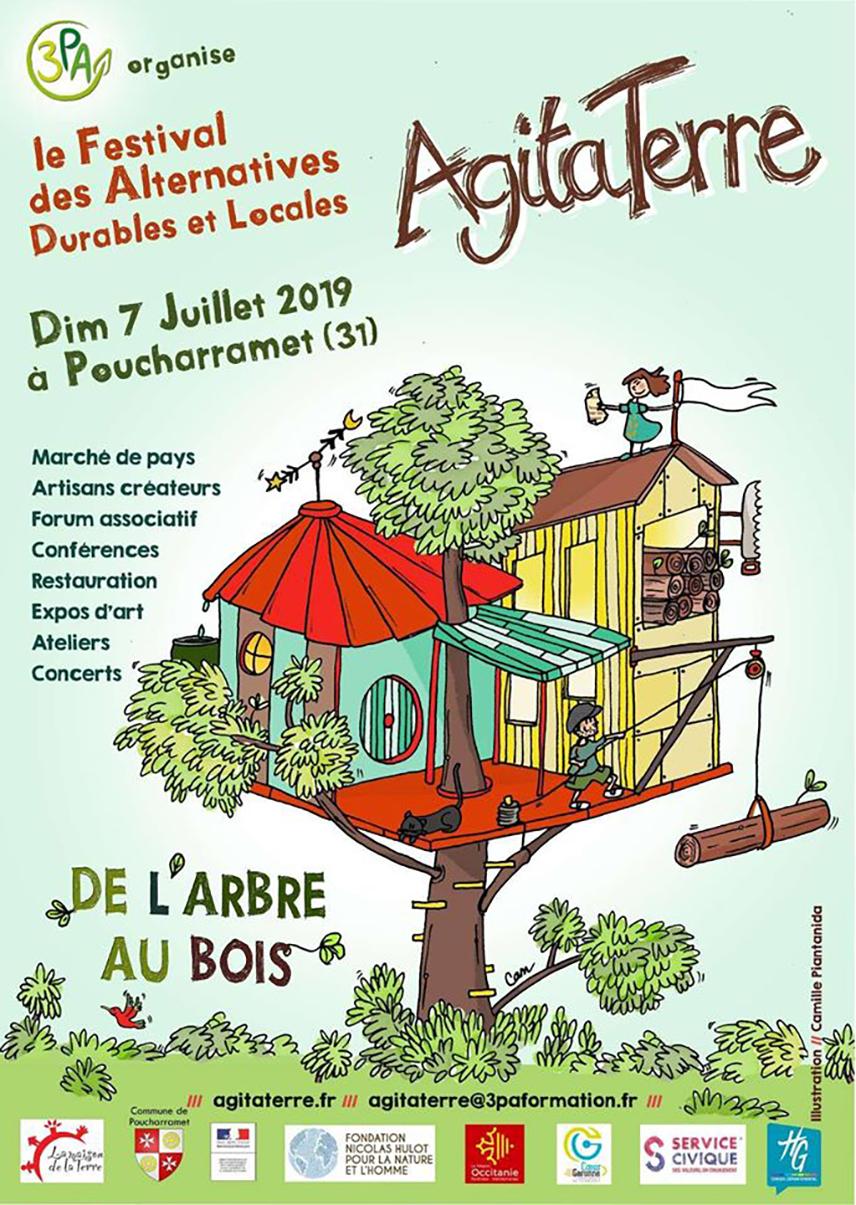 Festival AgitaTerre, Alternatives durables et locales, dimanche 7 juillet 2019