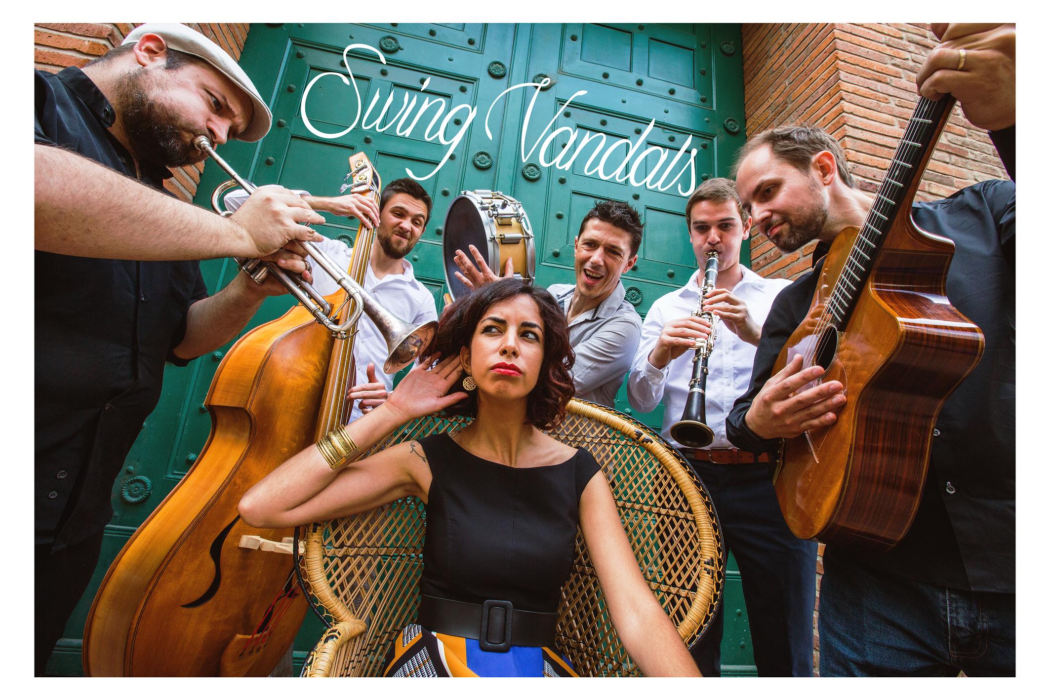 Concert sortie de résidence, Swing Vandals Orchestra, Jeudi 7 Mai 2020